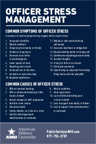 Officer Stress Management card